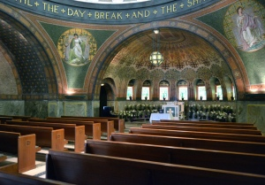 lakewood chapel interior