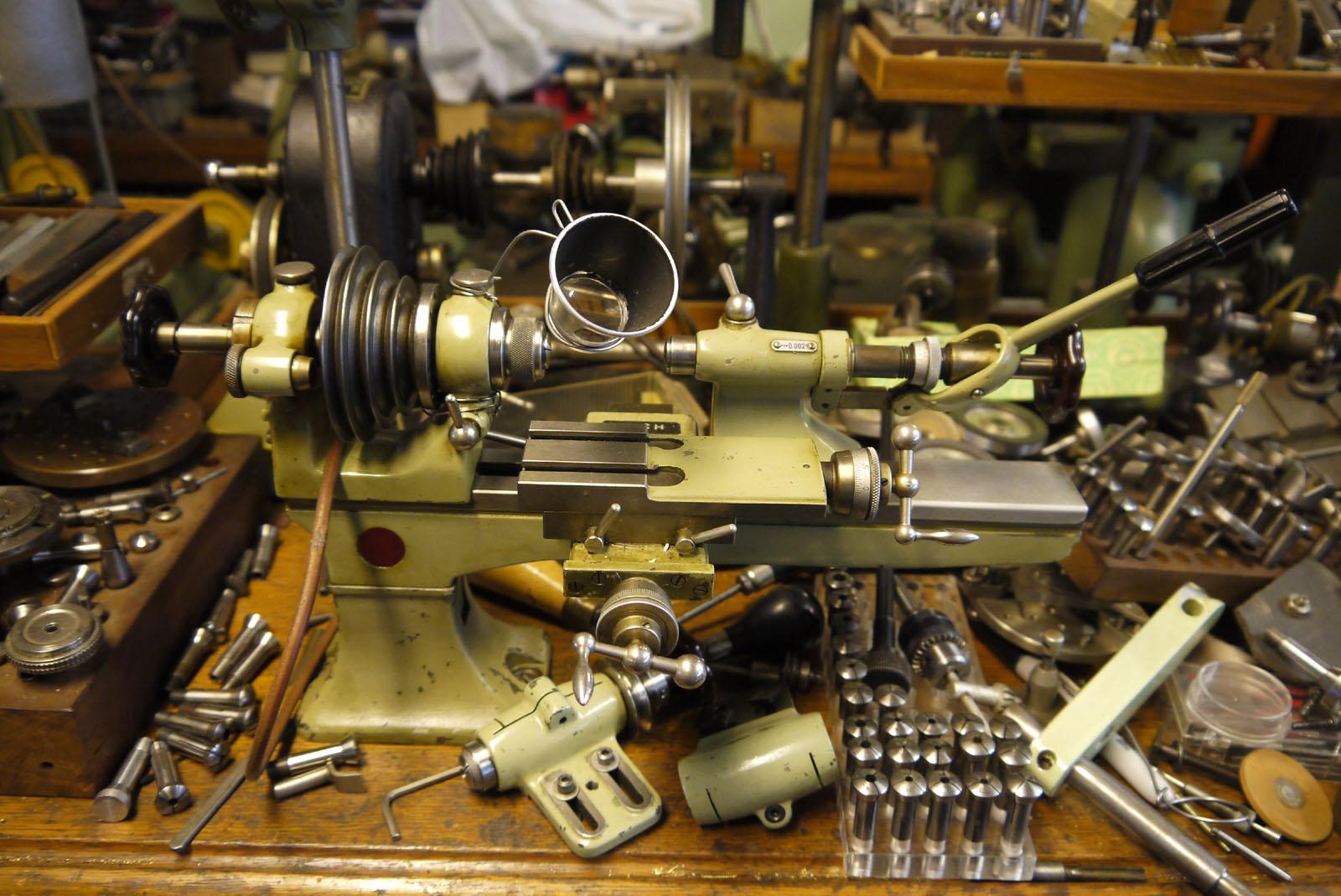 Old Fashioned Way Making Guns
