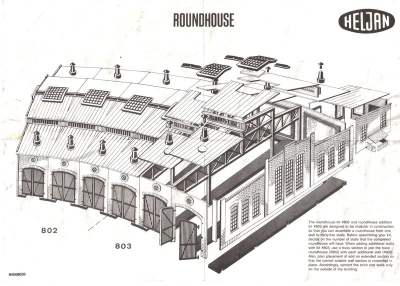 Not all roundhouses are—round, that is. « Welcome to ... Railroad Roundhouse Construction Plans on ho scale roundhouse plans, walthers track plans, 4x8 ho track plans, engine facility track plans, track and roundhouse steam engine plans, n scale roundhouse plans, o gauge roundhouse plans, railroad turntable construction plans, model railroad roundhouse plans,