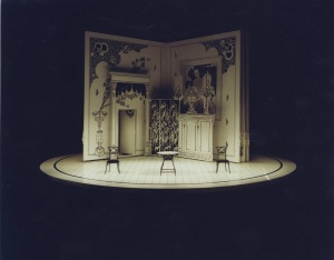 "Tierney's set design for Moliere's ""Tartuffe"""